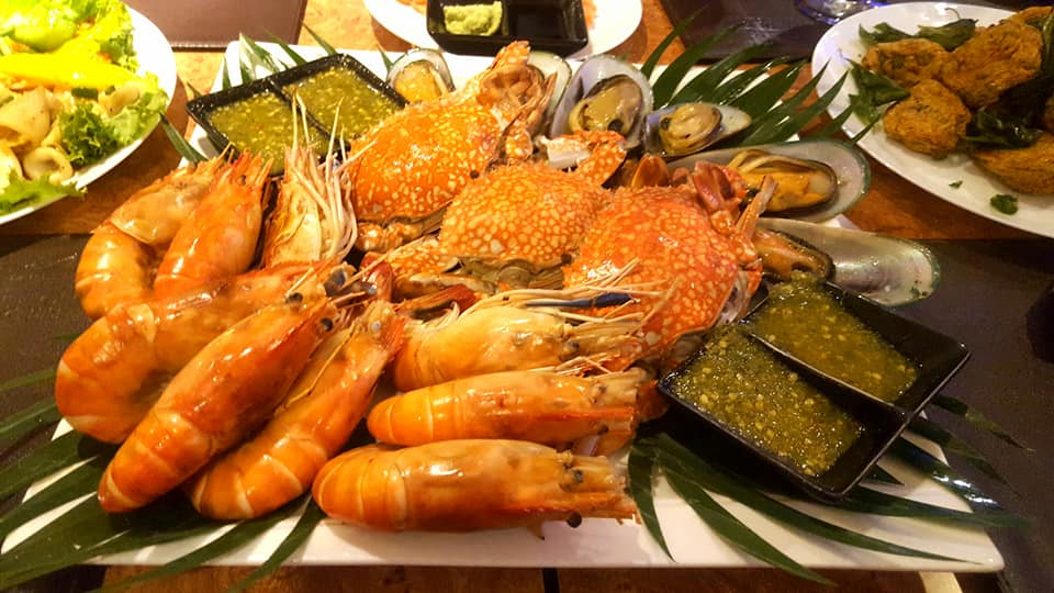 White Orchid River Cruise Seafood Buffet