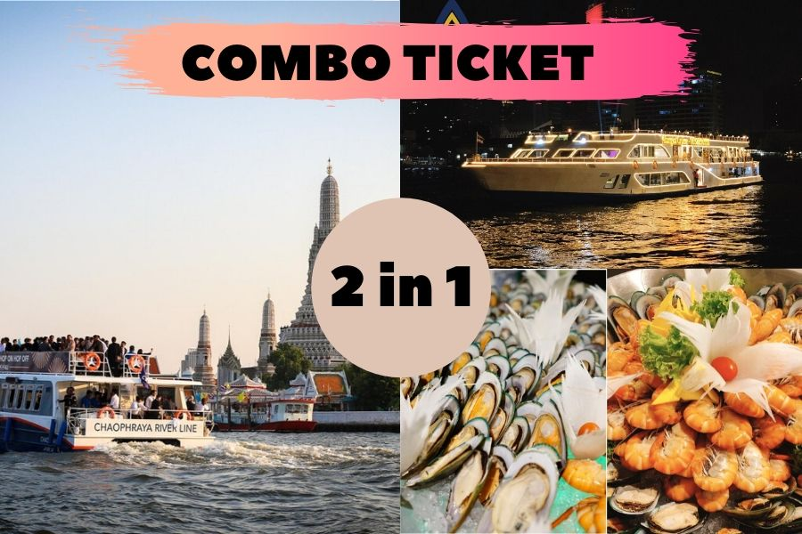 2 in 1 Combo Ticket Hop On Hop Off Boat4U + Alangka Cruise