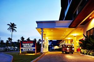 โรงแรมซันวิง กมลา บีช รีสอร์ท ภูเก็ต