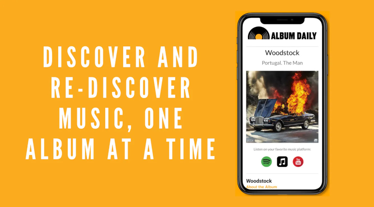 Album Daily newsletter image