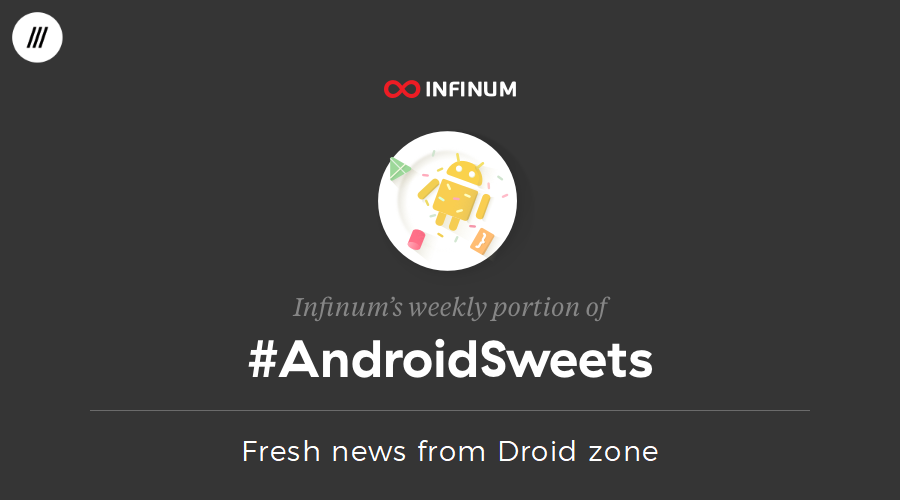 Android Sweets newsletter image