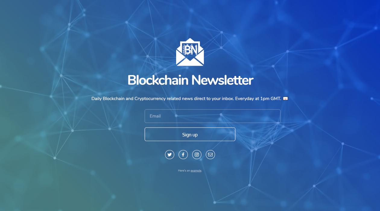Blockchain Newsletter newsletter image