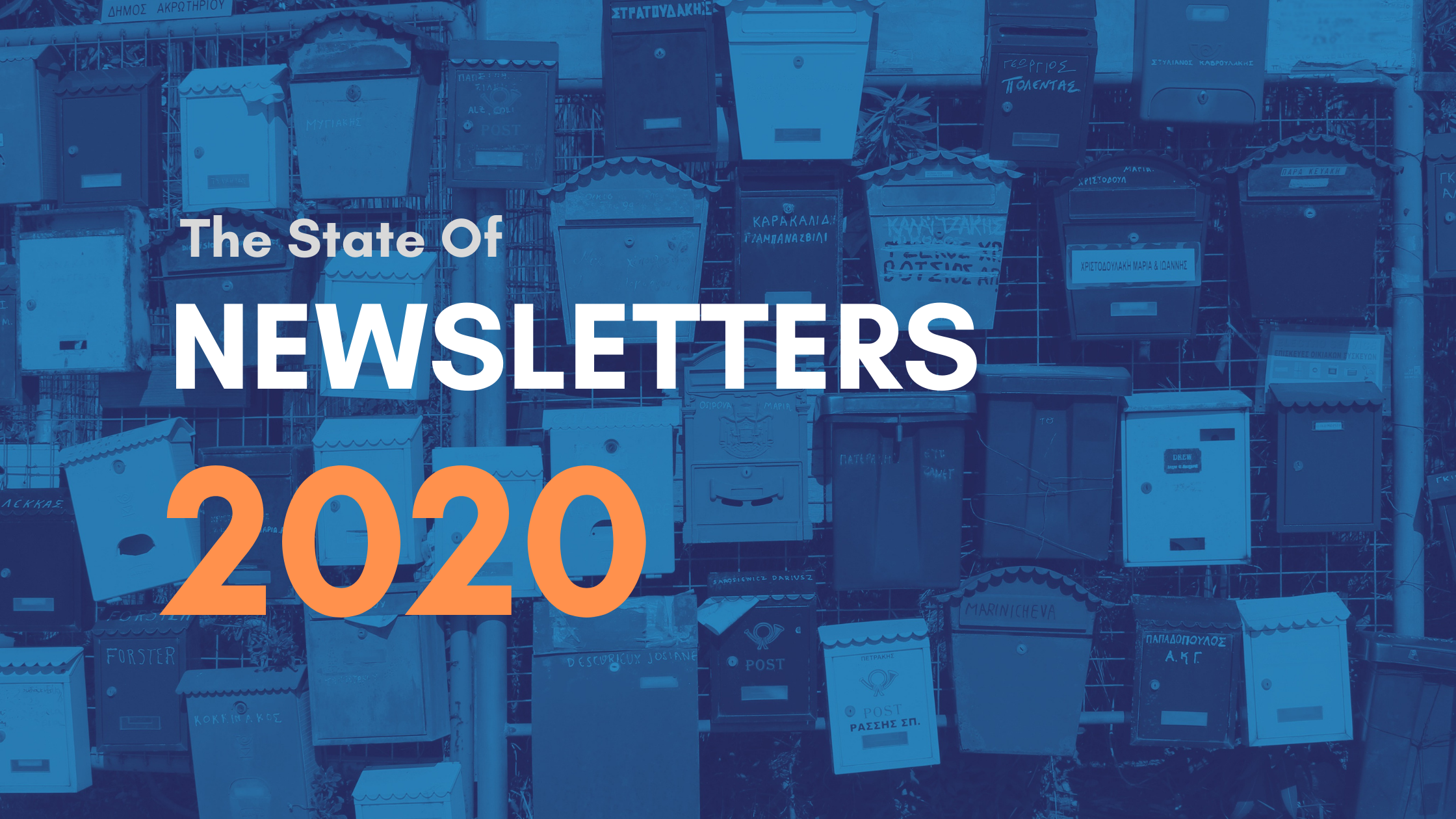 The State of Newsletters In 2020 image