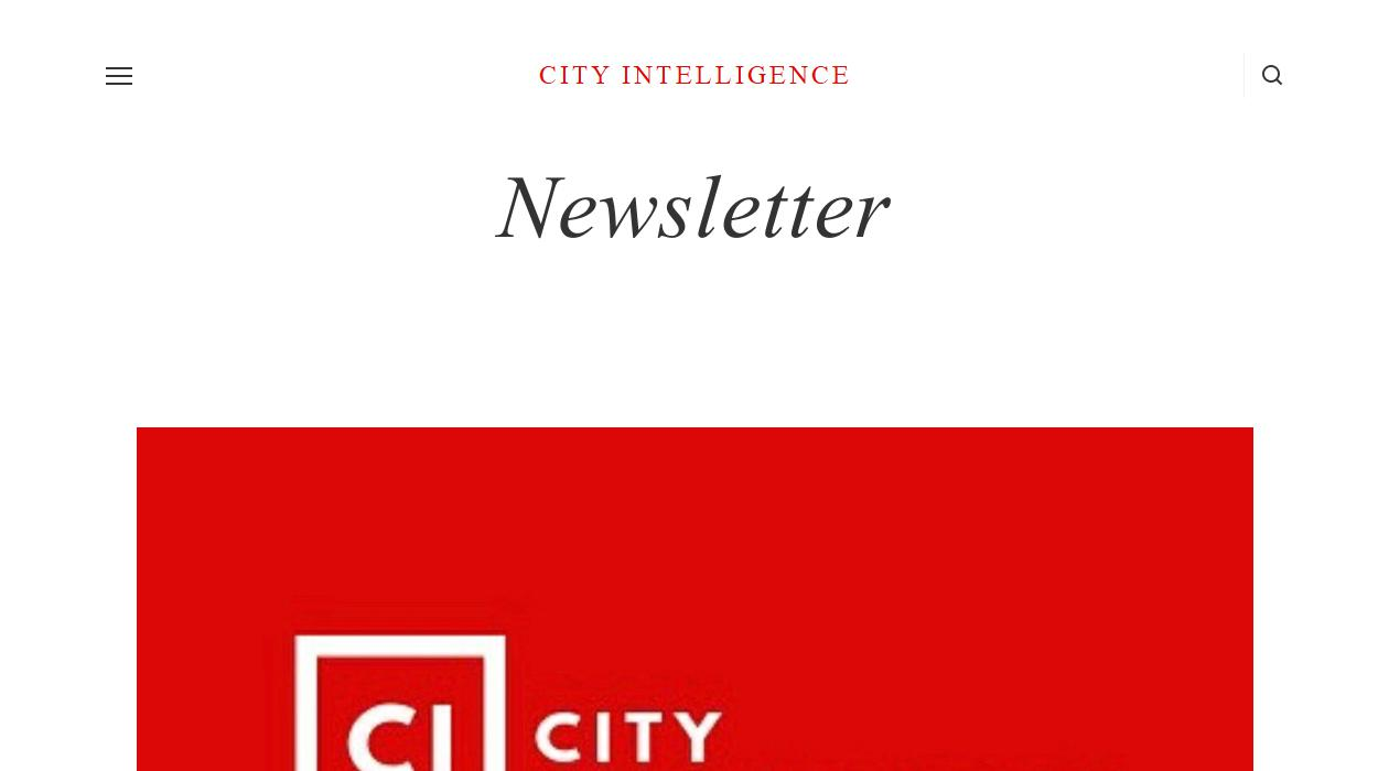 City Intelligence Newsletter newsletter image