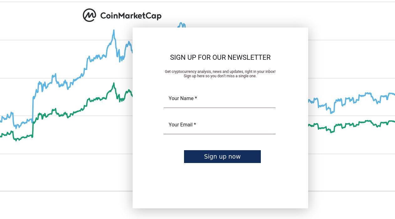 CoinMarketCap Daily Newsletter newsletter image