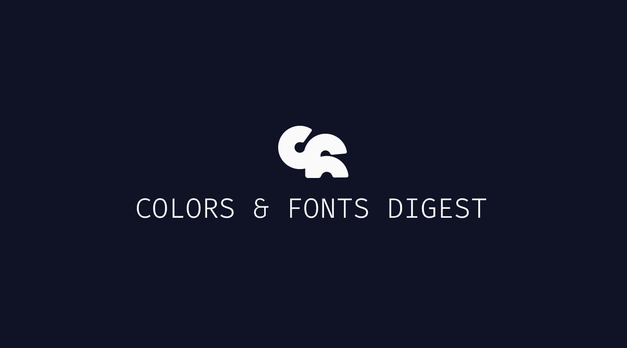 Colors and Fonts newsletter image