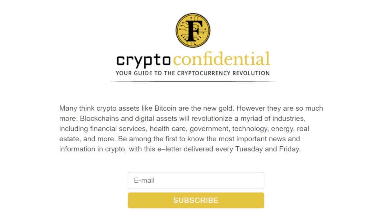 Crypto Confidential