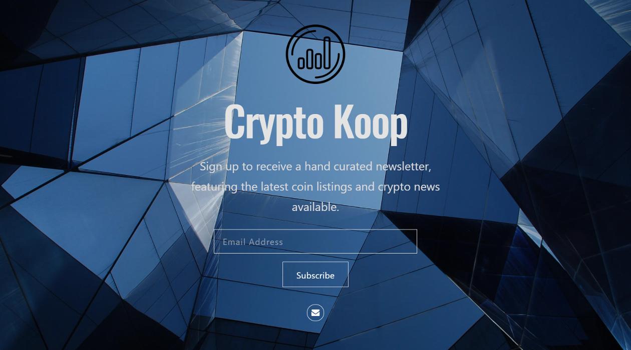 Crypto Koop newsletter image