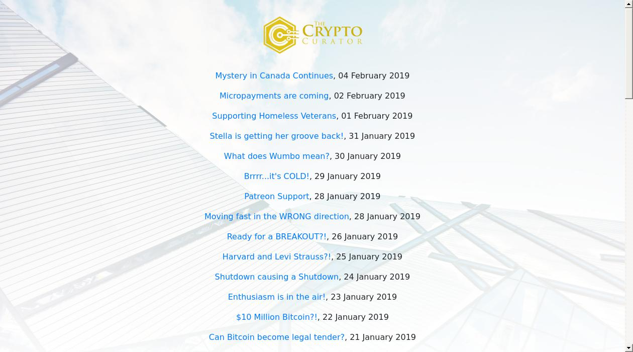 Crypto Watch newsletter image