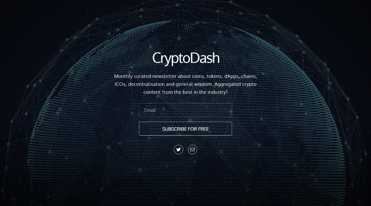 CryptoDash newsletter image