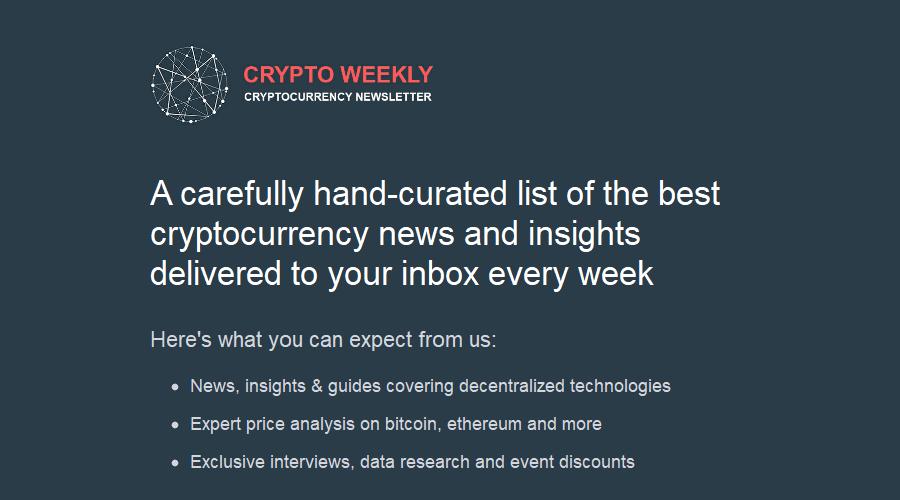 Crypto Weekly