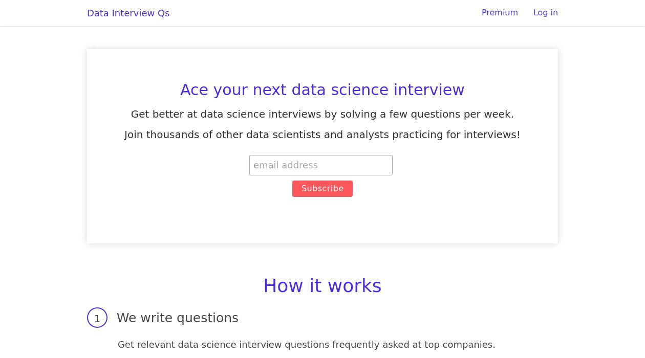 Data Interview Qs newsletter image
