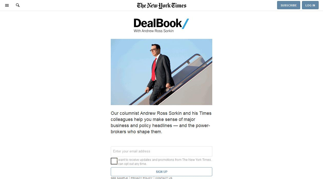 DealBook newsletter image