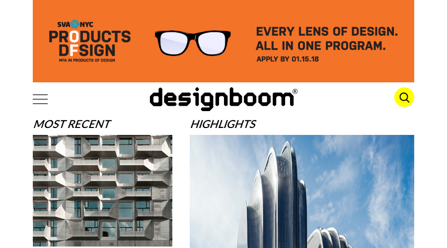 designboom newsletter image