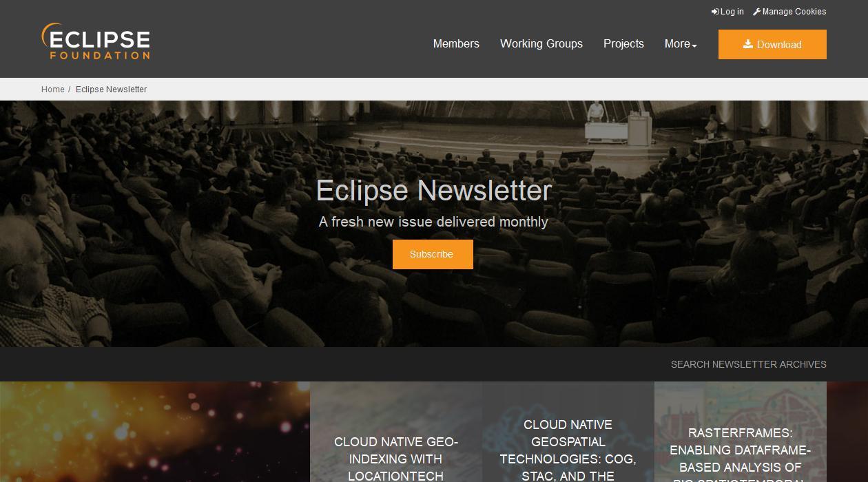 Eclipse Newsletter newsletter image
