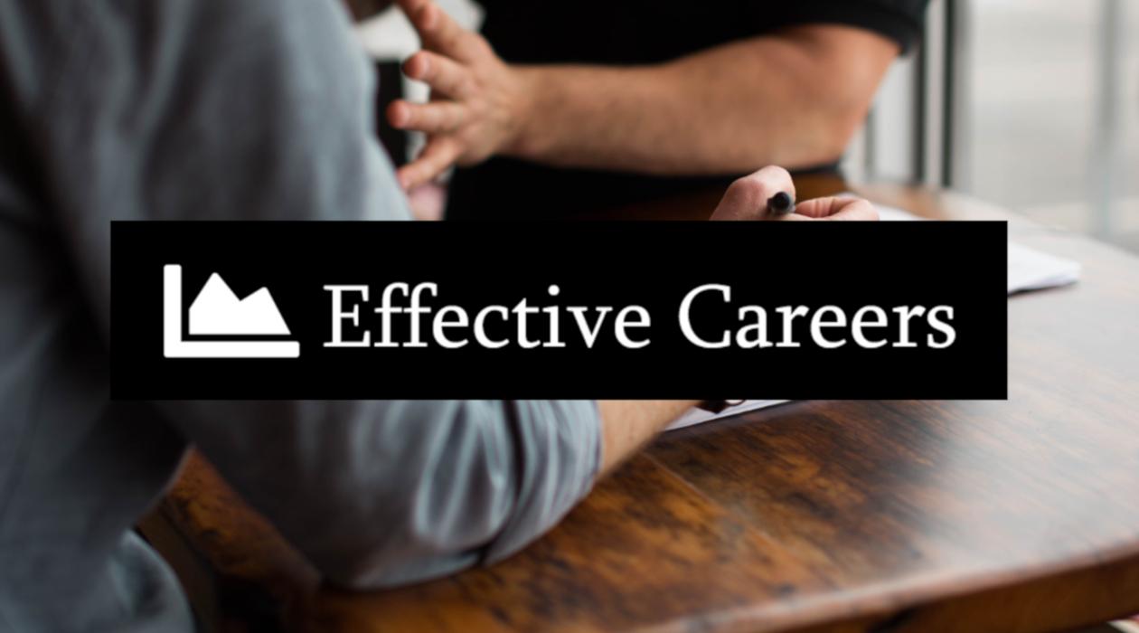 Effective Careers newsletter image