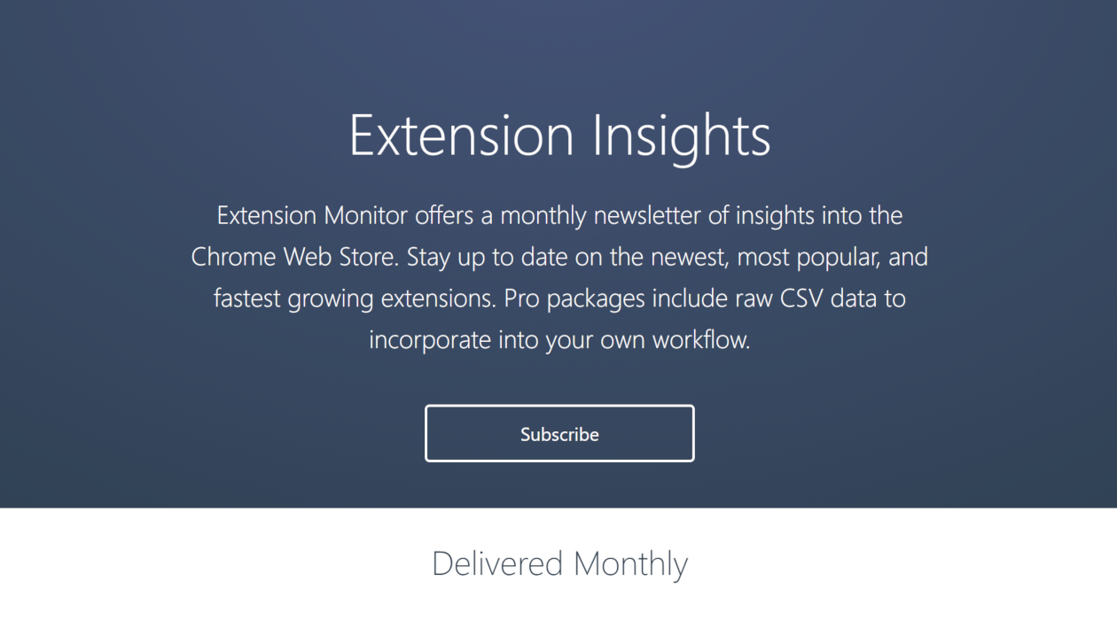 Extension Insights newsletter image