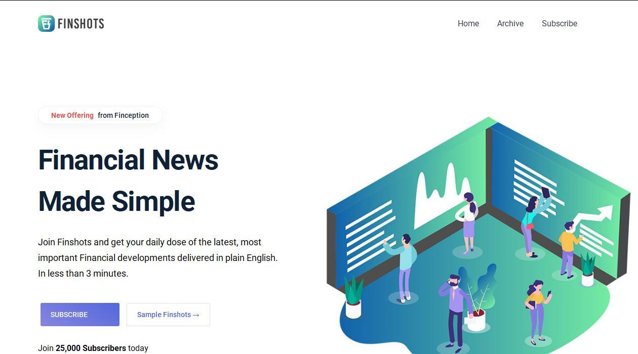 Finshots newsletter image