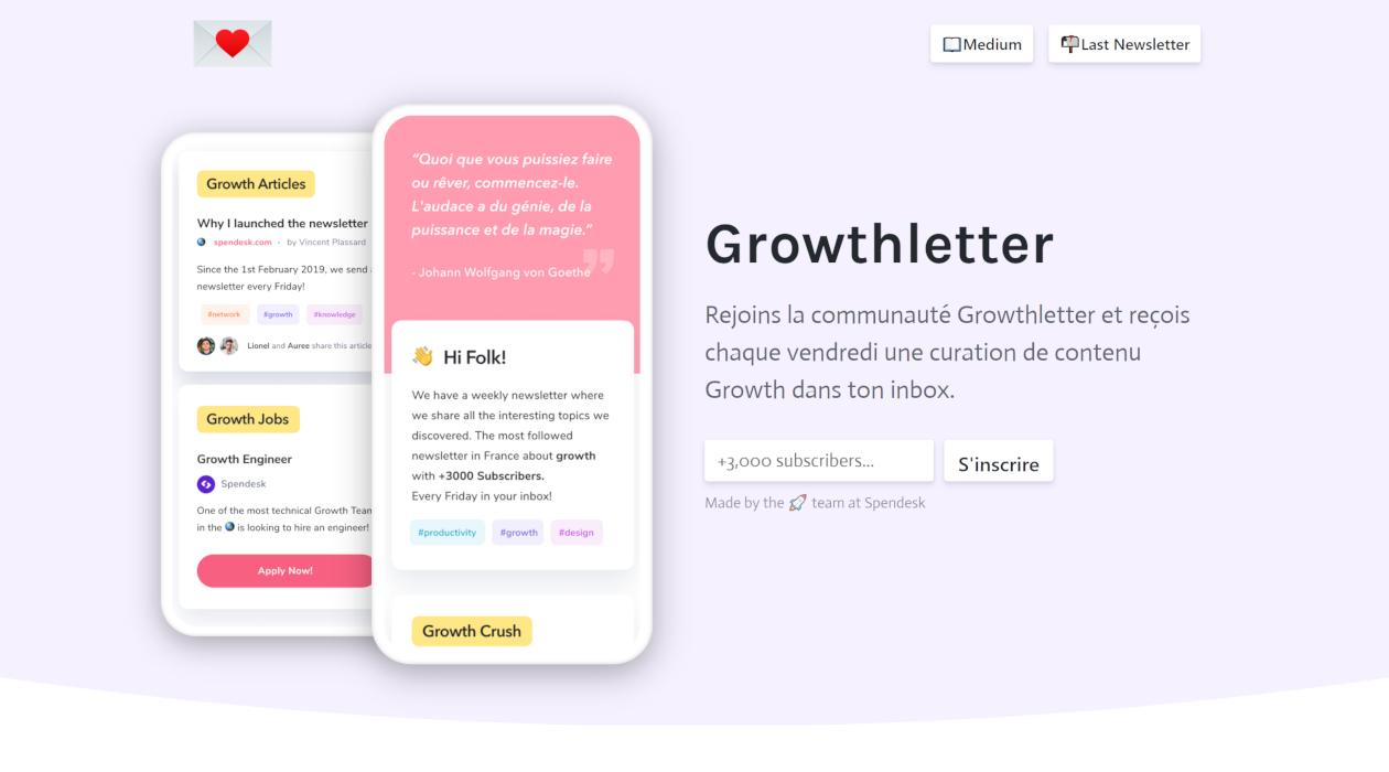 GrowthLetter newsletter image