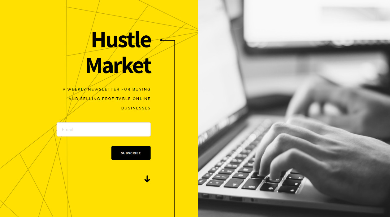 Hustle Market newsletter image