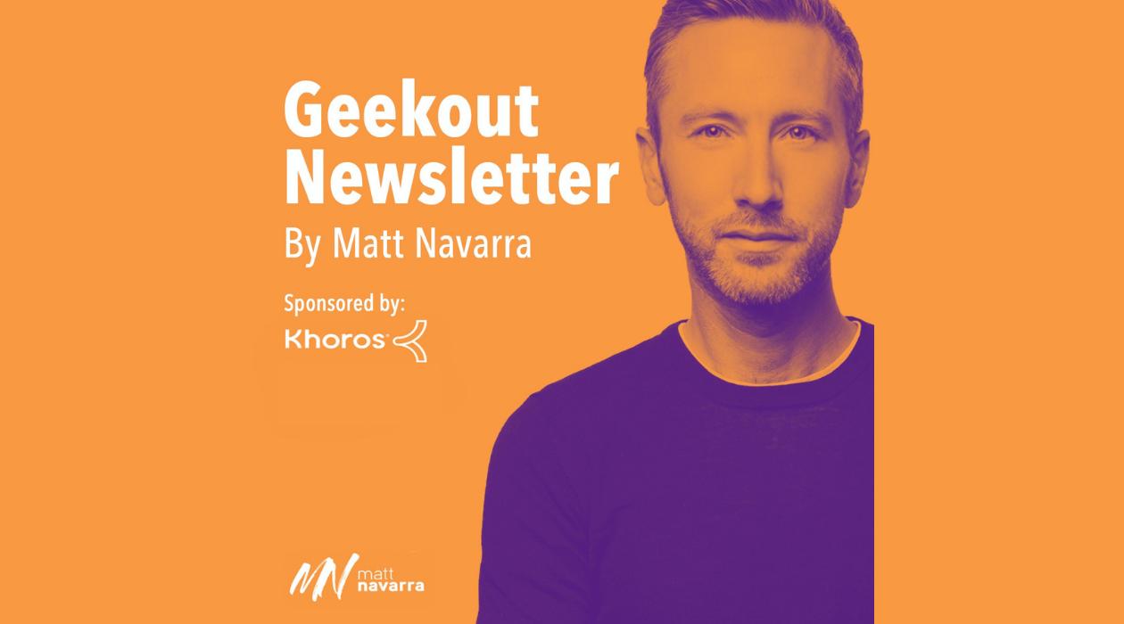 Geekout Newsletter newsletter image