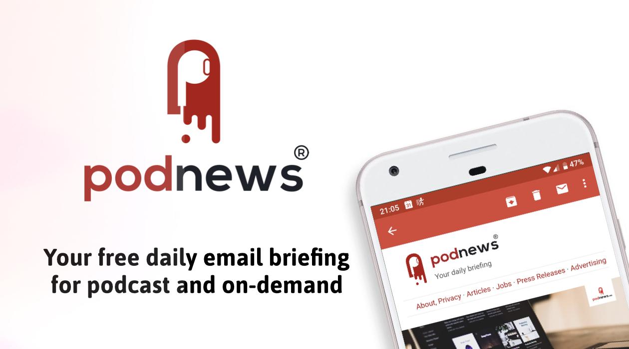 Podnews podcasting news newsletter image