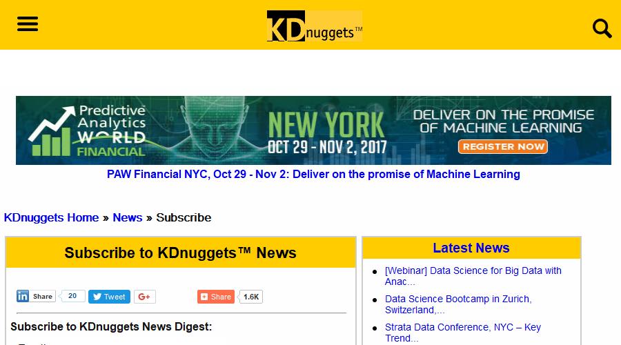 KDnuggets News newsletter image