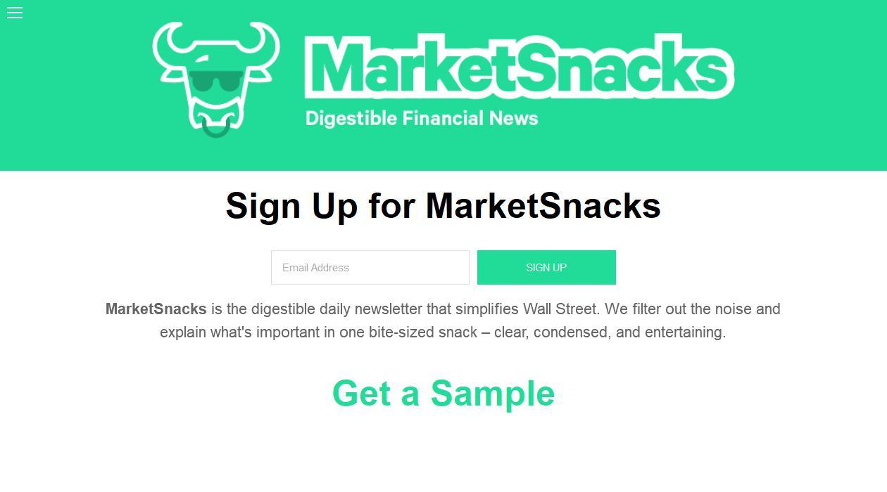 MarketSnacks newsletter image
