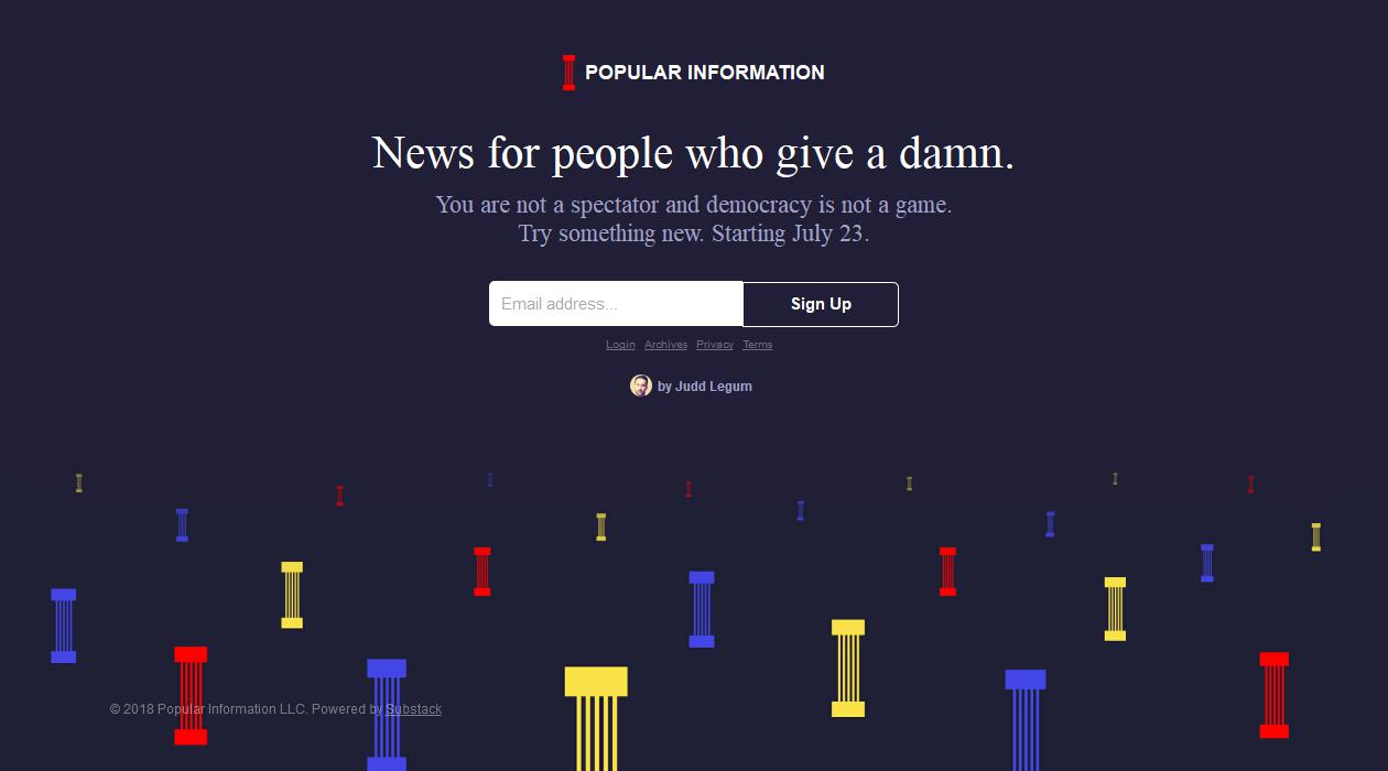 Popular Information newsletter image