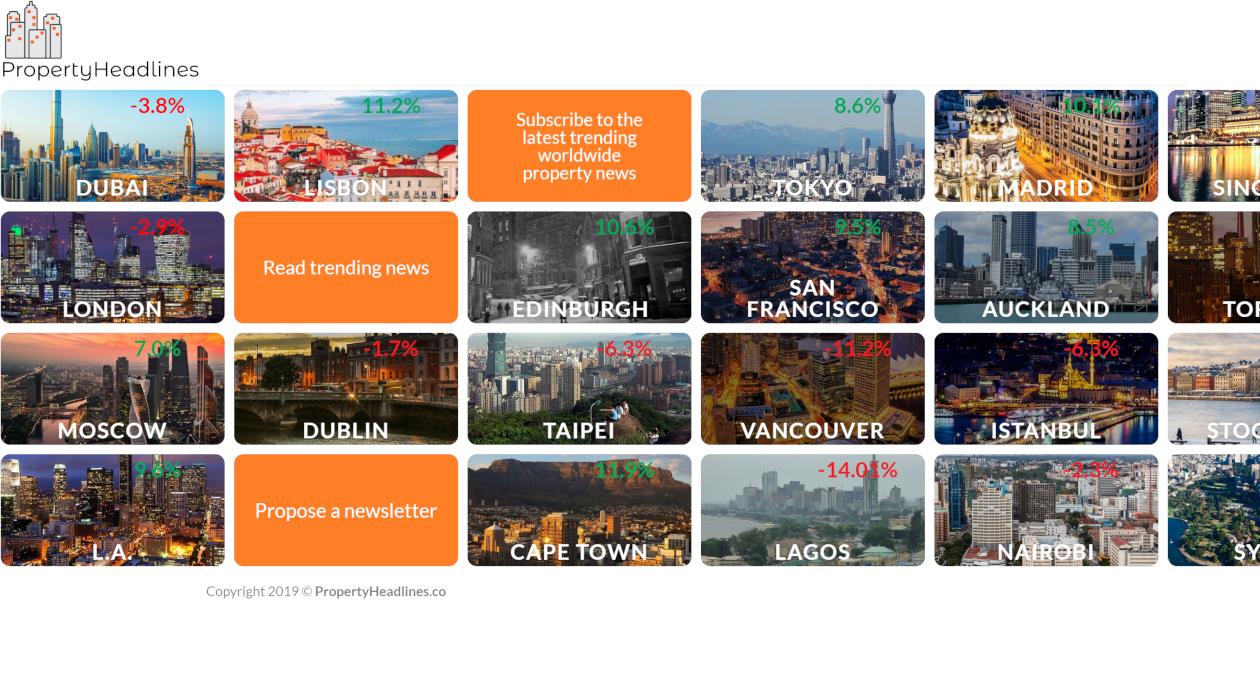 PropertyHeadlines newsletter image