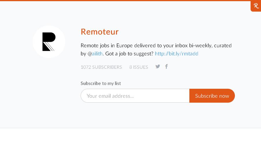 Remoteur newsletter image