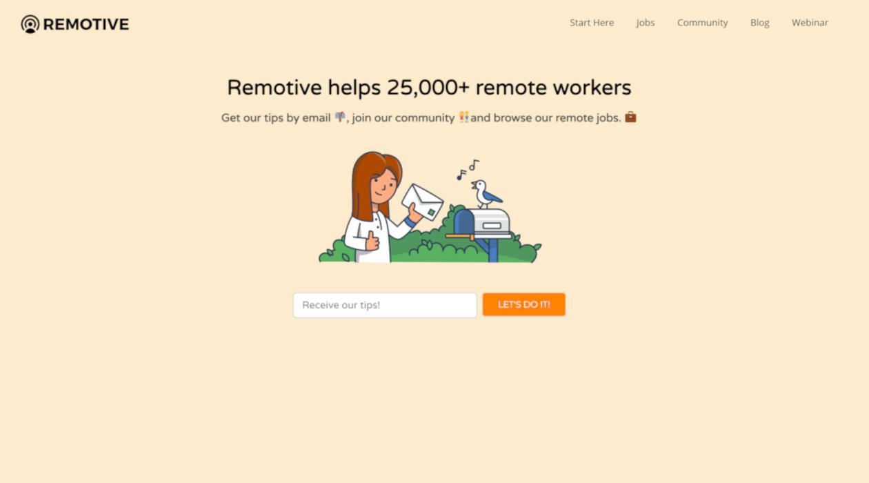 Remotive newsletter image