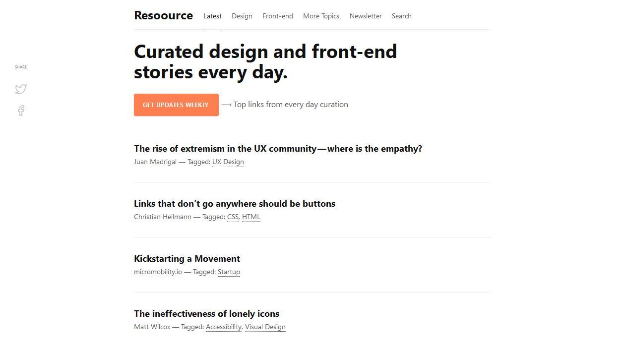 Resoource newsletter image