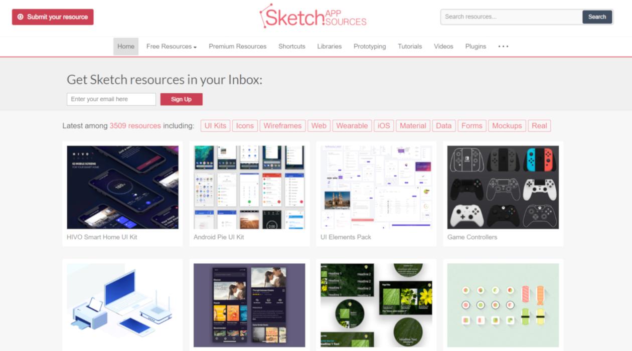 Sketch App Sources newsletter image