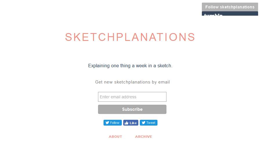 Sketchplanations newsletter image