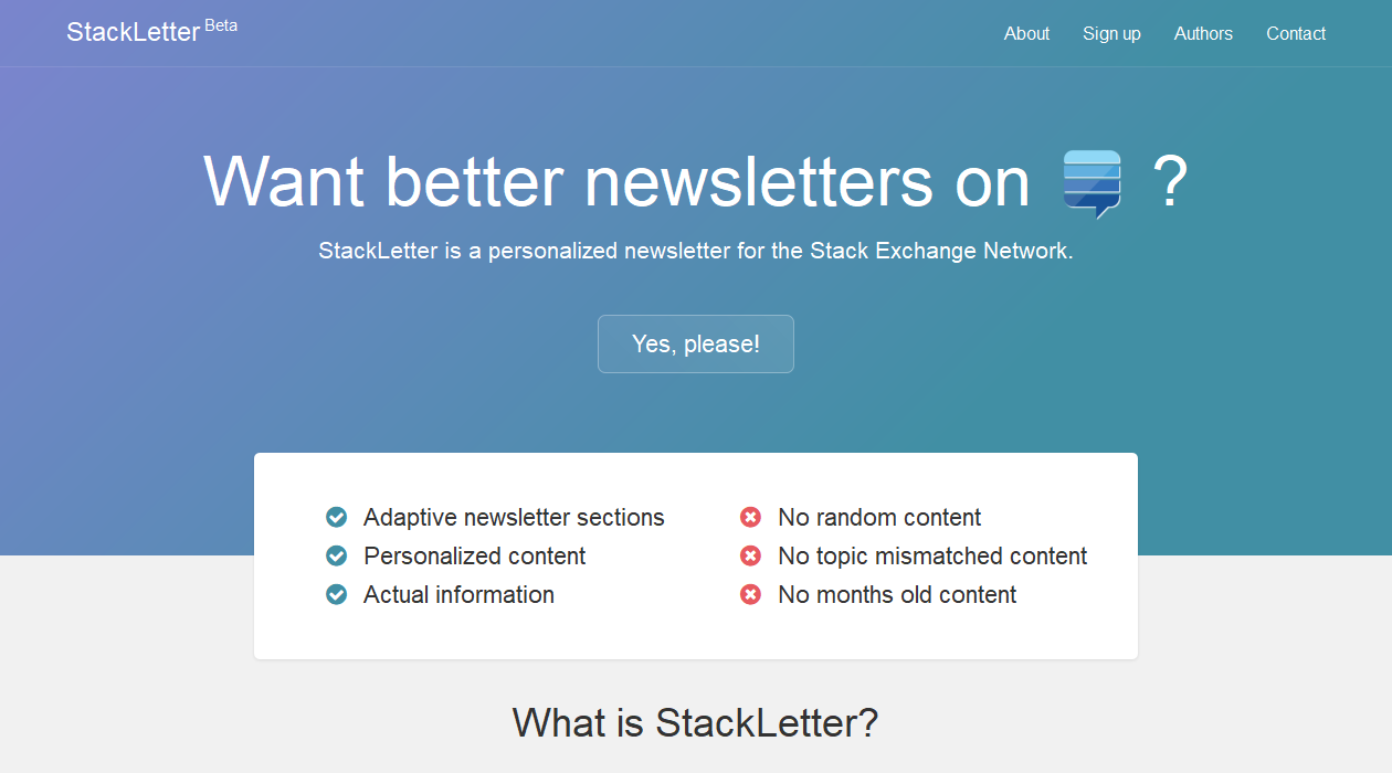 Stack Letter newsletter image