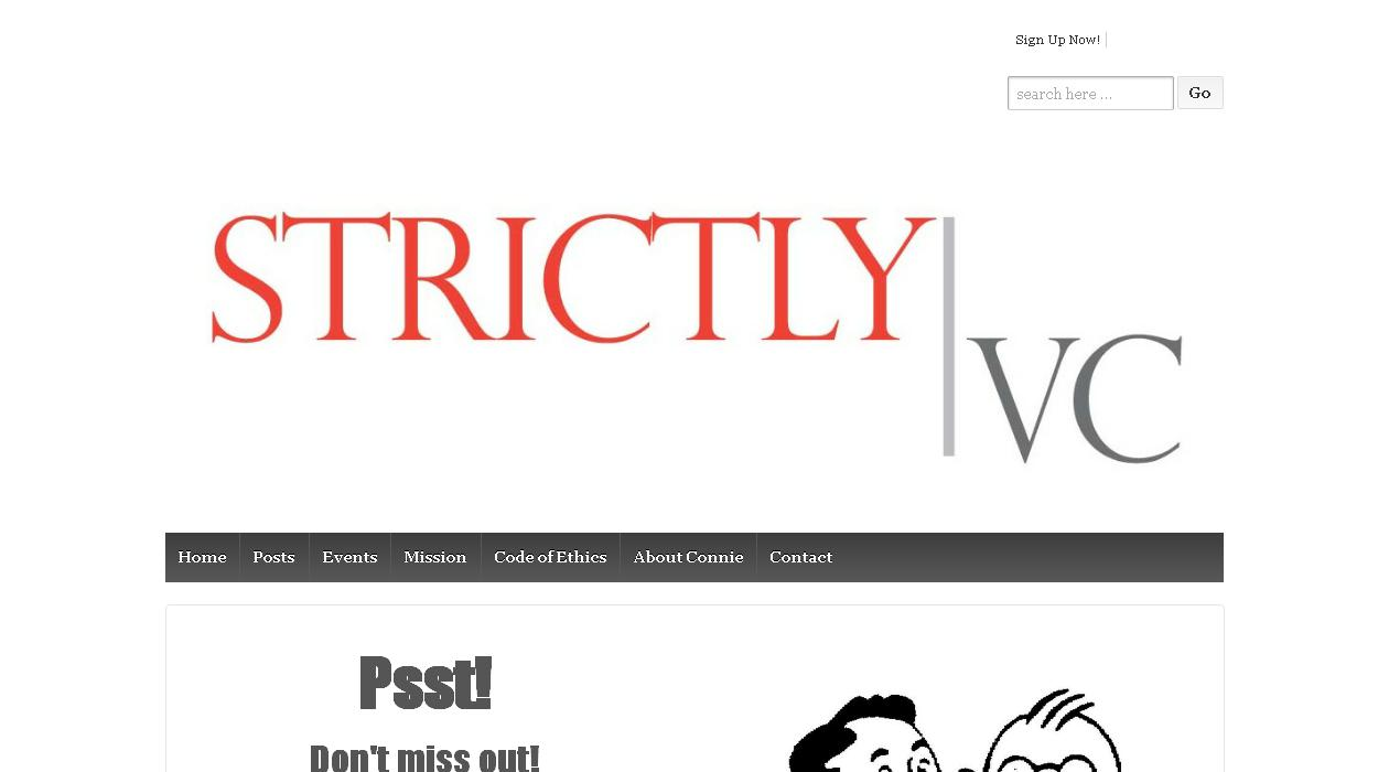 Strictly VC newsletter image