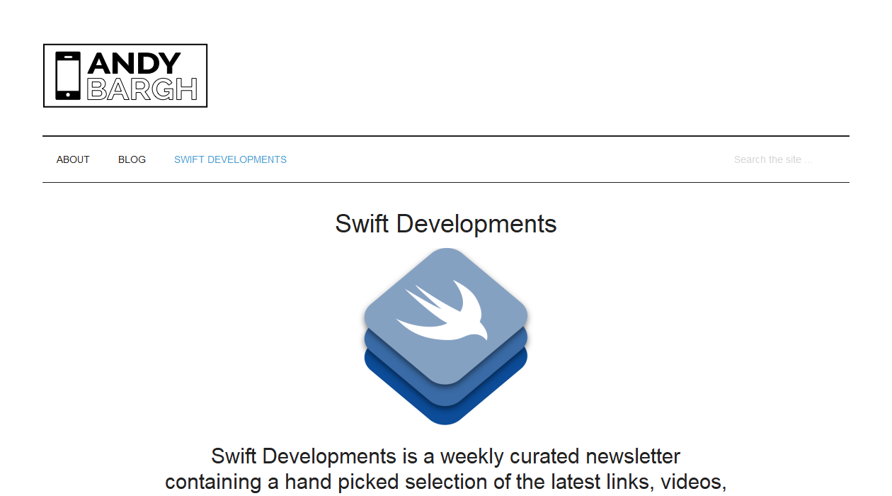Swift Developments newsletter image