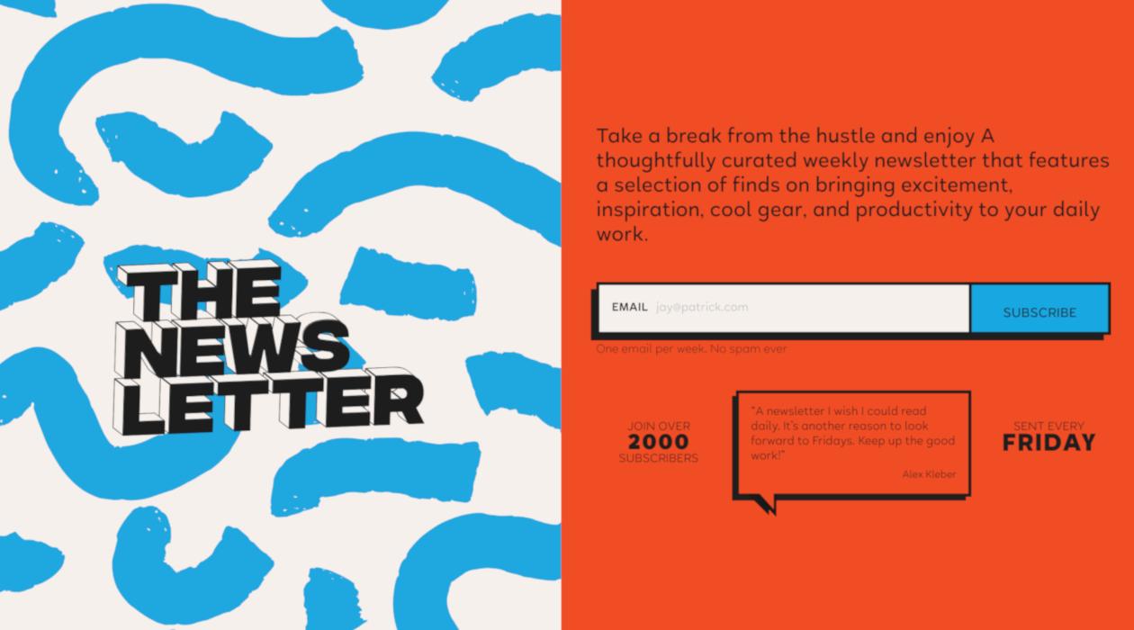 That's Really Good Newsletter newsletter image