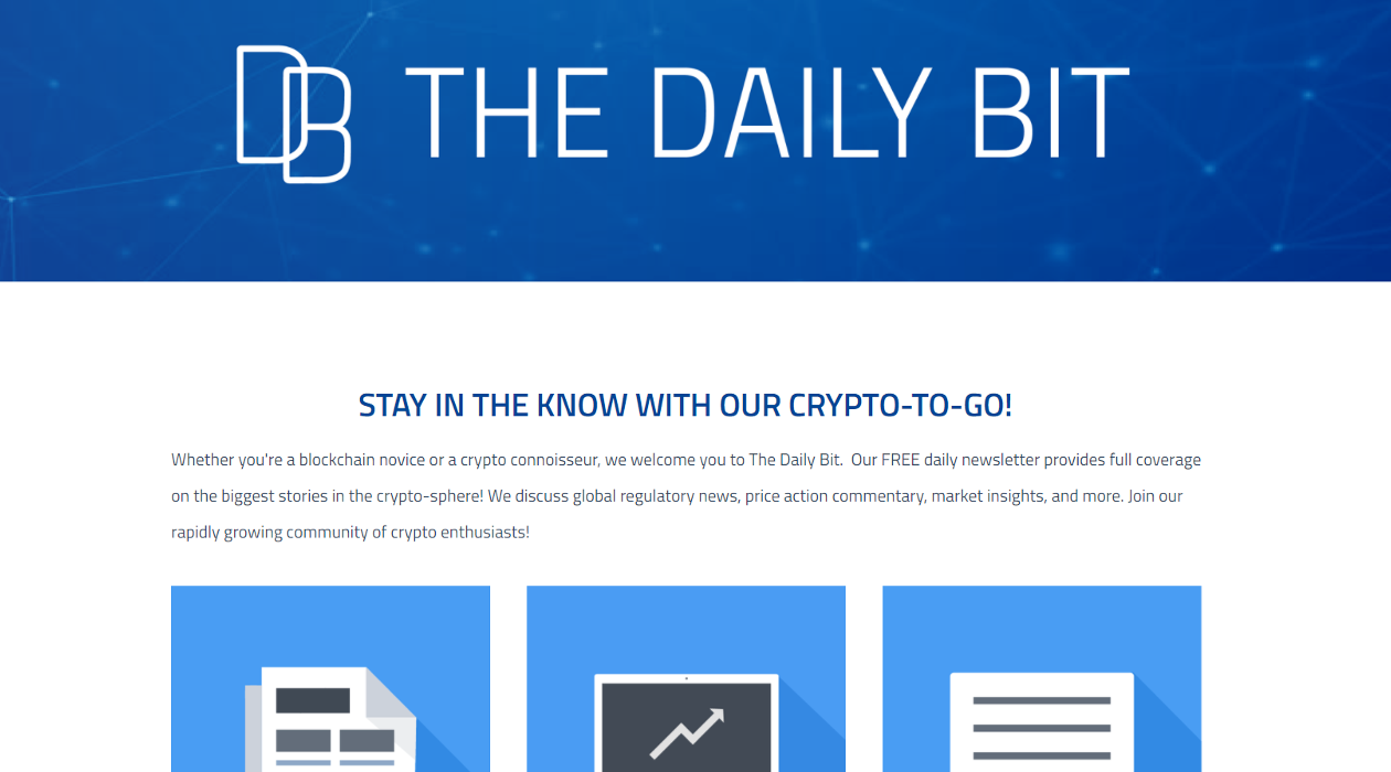 The Daily Bit newsletter image