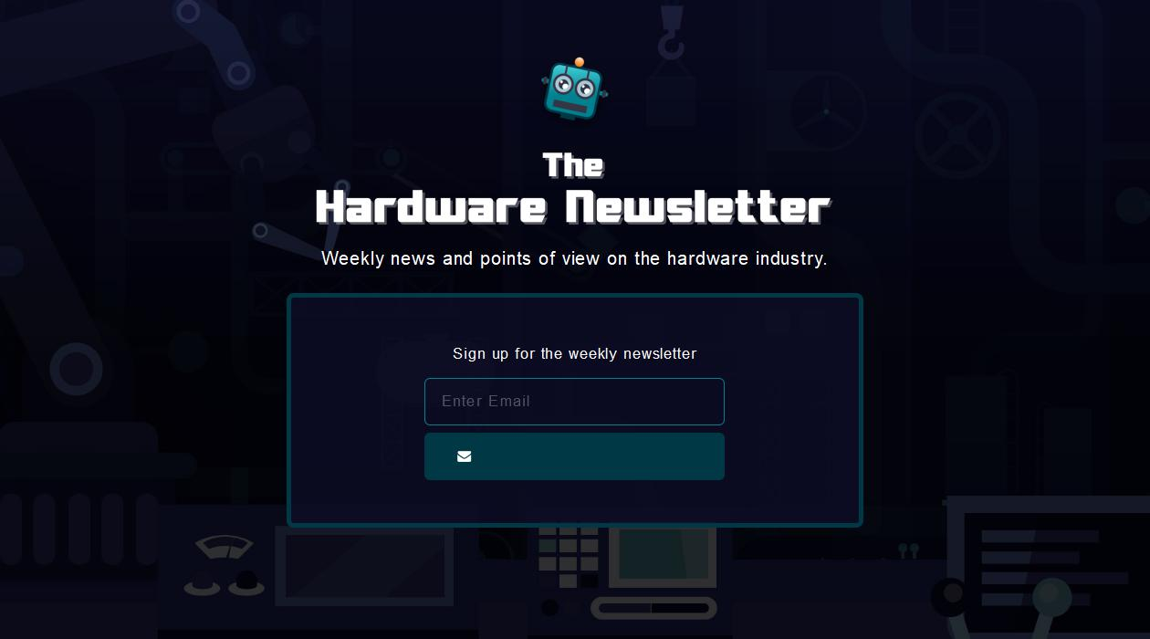 The Hardware Newsletter newsletter image
