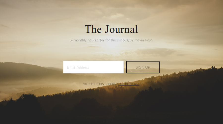 The Journal newsletter image