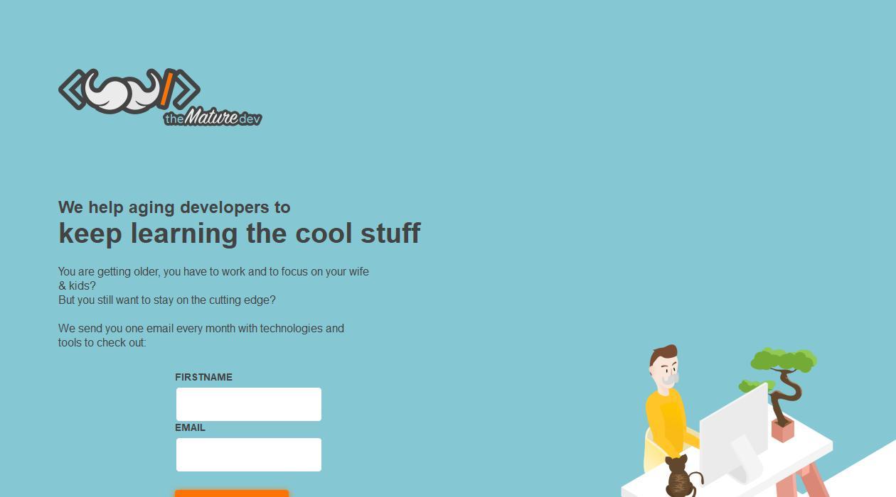 The Mature Developer newsletter image