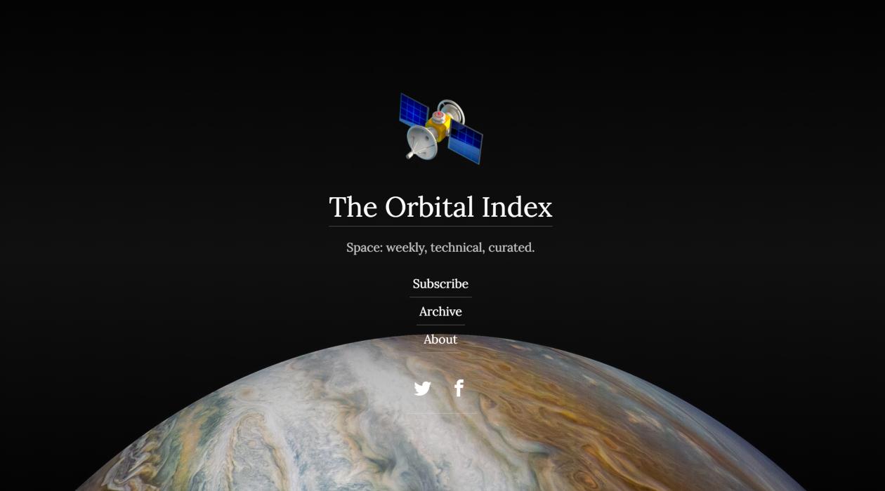 The Orbital Index newsletter image