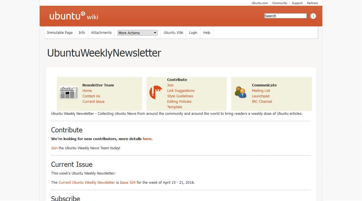 Ubuntu Weekly Newsletter newsletter image
