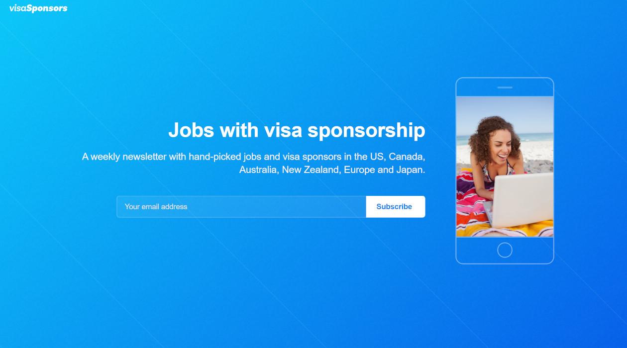 Visa Sponsors Weekly newsletter image