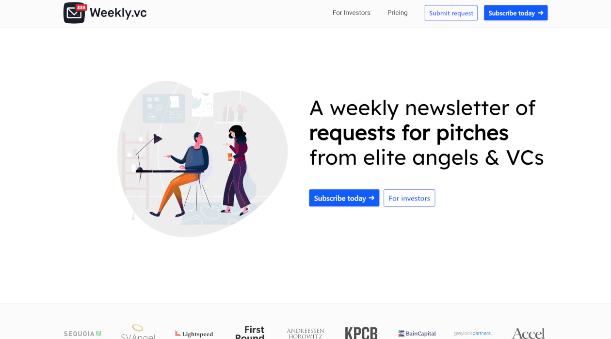 Weekly.vc newsletter image