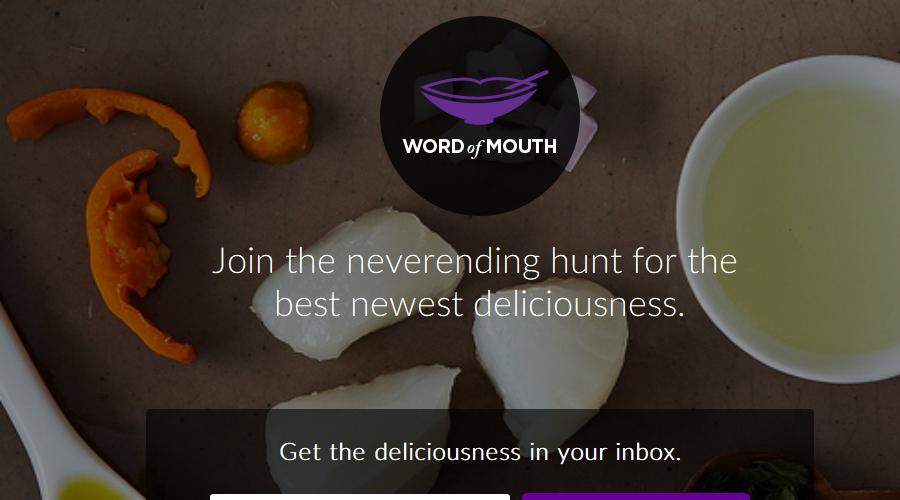 Word of Mouth newsletter image