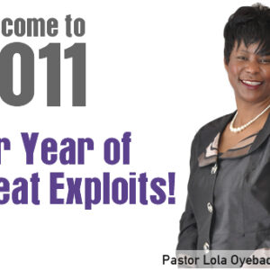 Welcome to 2011, Our Year of Great Exploits!