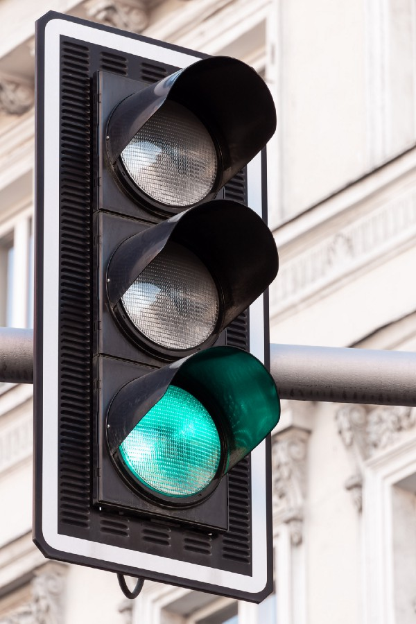 Green light for our traffic thanks to proxies.